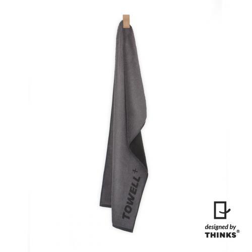 Productafbeelding voor 'Towell+ grijs met beige clip'