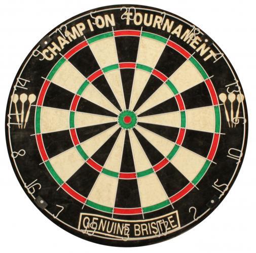 Abbey dartbord sisal classic