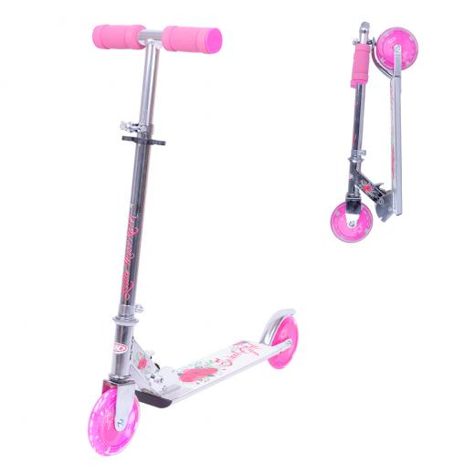 Scooter_WORKER_Racer_Sweet_Girl_with_Light_Up_Wheels