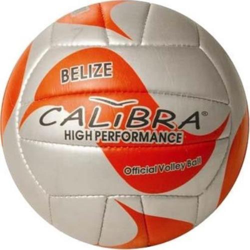 Calibra Beachvolleybal Belize Oranje-zilver Maat 5