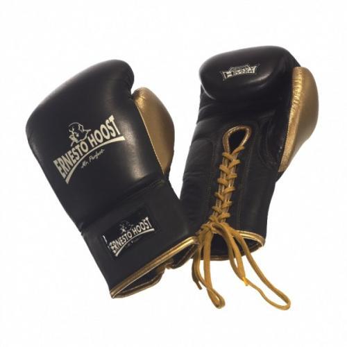 Productafbeelding voor 'Ernesto Hoost professional bokshandschoenen met vetersluiting'