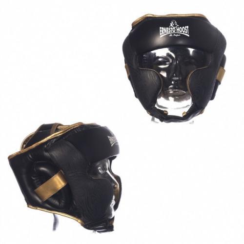 Productafbeelding voor 'Ernesto Hoost ultieme lederen hoofdbescherming'