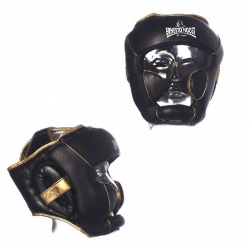 Productafbeelding voor 'Ernesto Hoost elite pro lederen hoofdbescherming'