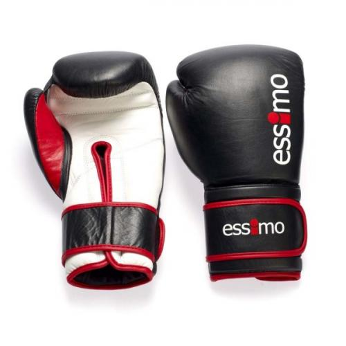 Productafbeelding voor 'Essimo kick boks leren handschoenen'