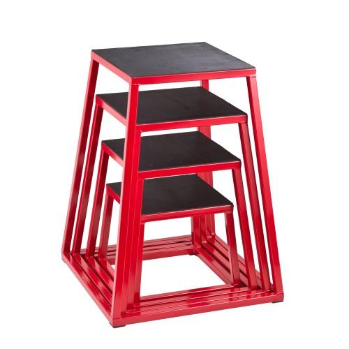 Productafbeelding voor 'Steel Plyo Box set van 4 plyoboxen'