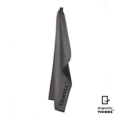 Productafbeelding voor 'Towell+ grijs met zwarte clip'