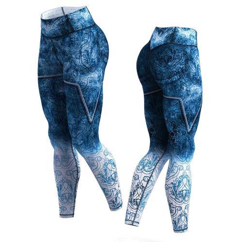 Gavelo Eclipse blue compressie legging