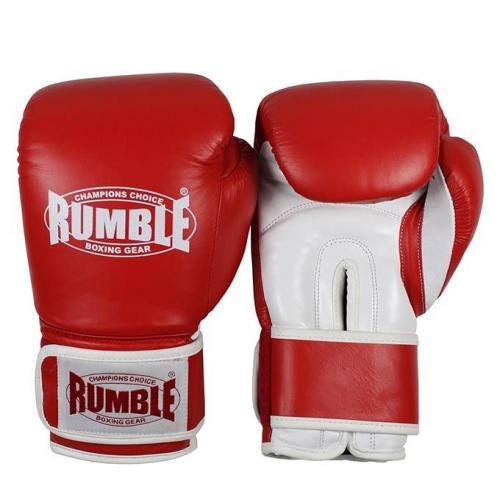 Productafbeelding voor 'Rumble bokshandschoen fighter rood-wit'