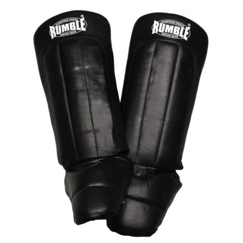 Productafbeelding voor 'Rumble scheenbeschermer ready leer'