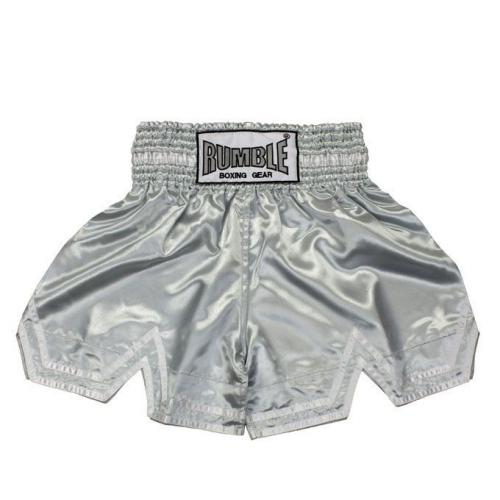 Productafbeelding voor 'Rumble kickboks broekje zilver'