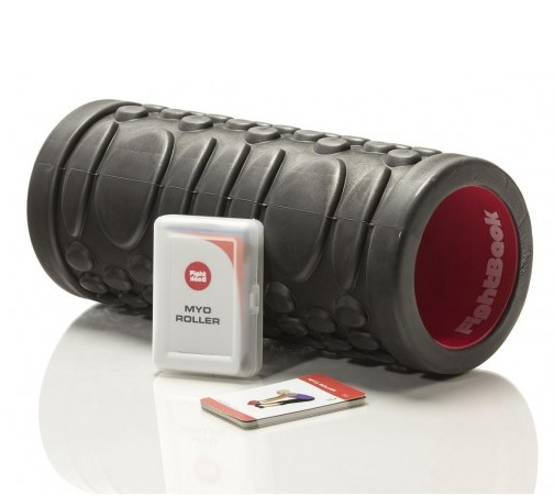 Productafbeelding voor 'FIGHT BACK Foam Roller Met Work-out Cards'