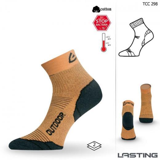 lasting_trekking_sokken_oranje