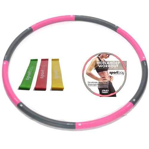 hoelahoep 1 4kg workout dvd loop bands sportbay nlHoelahoep Voordeelsets #5