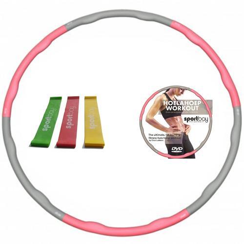 hoelahoep soft workout dvd loop bands voordeelset sportbay nlHoelahoep Voordeelsets #1