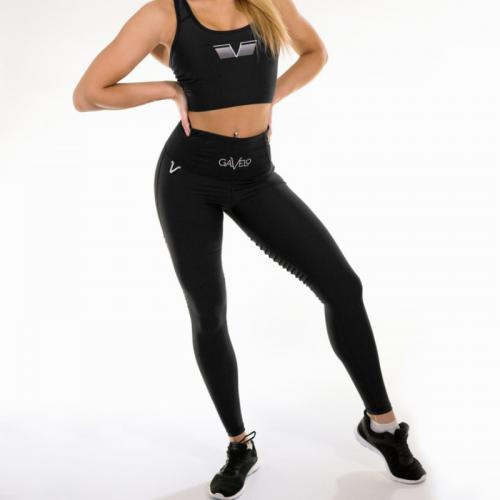 Gavelo Plain Black Sport legging
