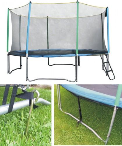 Productafbeelding voor 'Verankersysteem voor trampolines'