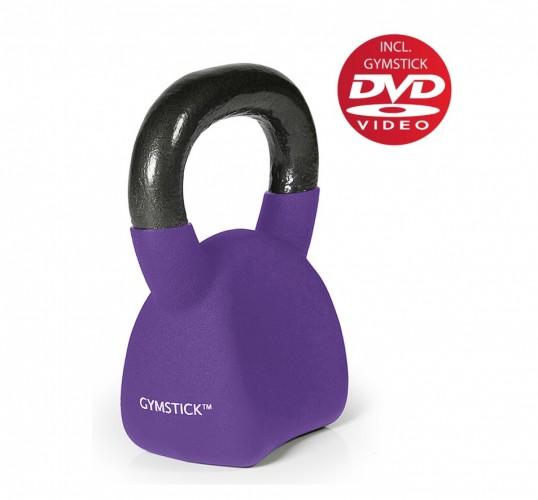 Productafbeelding voor 'GYMSTICK Ergo Kettlebell 6 kg met trainingsvideo'