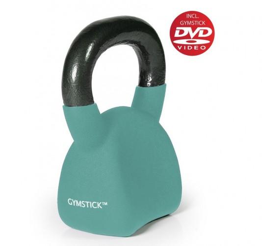 Productafbeelding voor 'GYMSTICK Ergo Kettlebell 12 kg met trainingsvideo'