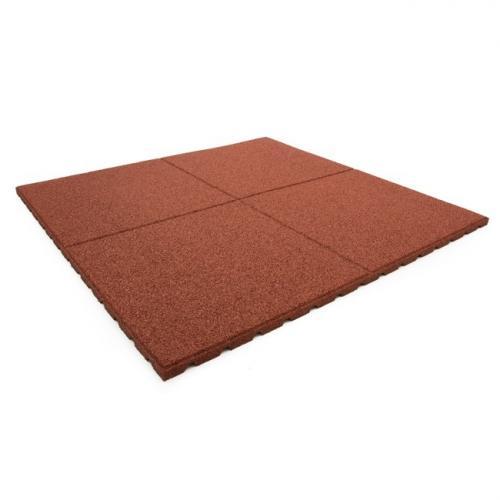 Productafbeelding voor 'Fitnessvloer 100x100cm (Rood)'