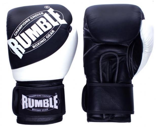 Productafbeelding voor 'Rumble bokshandschoen Rumble Fighter (Zwart - Wit)'