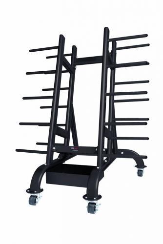 Lifemaxx Body pump rack for max. 30 sets (silver) - Sportbay.nl af86eedbe505c