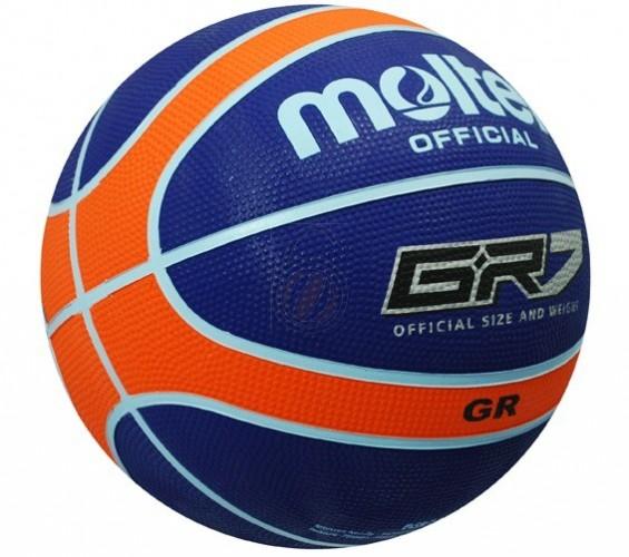 Basketbal Molten GR6 blauw
