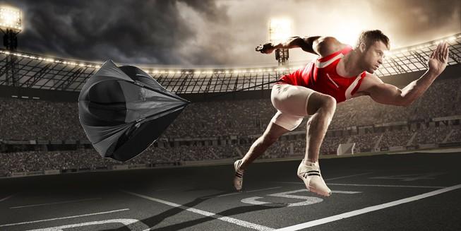 High Qulity Sd Training Resistance Parachute Running Chute Soccer Football Umbrella Outdoor Fitness Equipment
