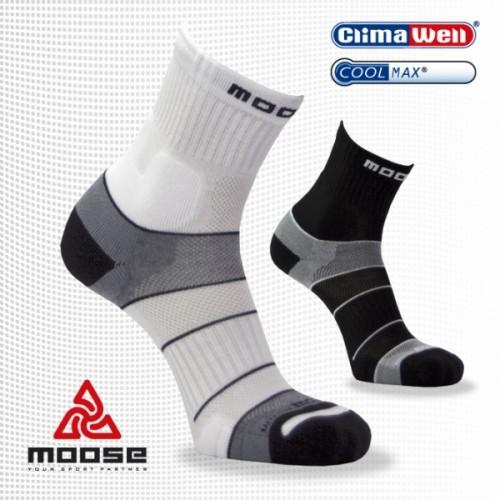 Productafbeelding voor 'Moose hardloopsokken MOTION (Wit)'