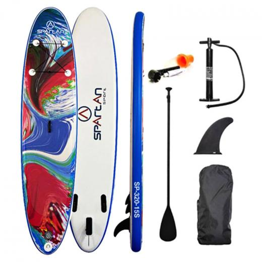 Paddle_Board_w_Accessories_Spartan_SUP_10___6____Blue_Red_White