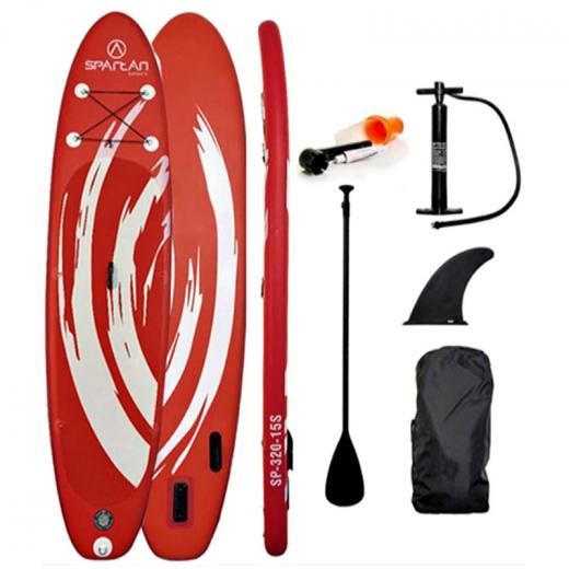 Paddle_Board_w_Accessories_Spartan_SUP_10___6____Red_White