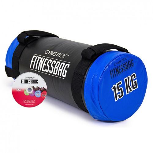Productafbeelding voor 'GYMSTICK fitness bag met trainingsvideo (15 kg)'