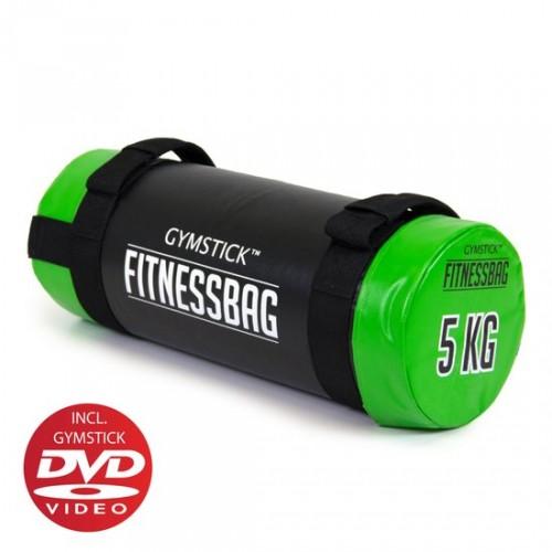 Productafbeelding voor 'GYMSTICK fitness bag met trainingsvideo (5 kg)'