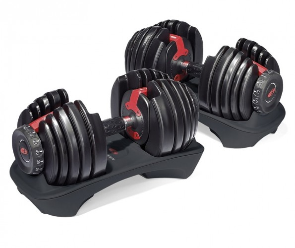 Productafbeelding voor 'Bowflex® SelectTech 552i dumbbell set'