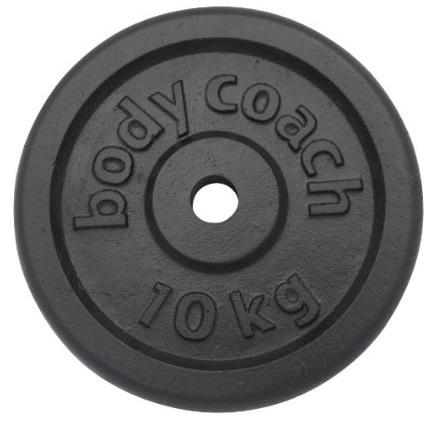 Productafbeelding voor 'Halterschijf van gietijzer BODY COACH (10 kg)'