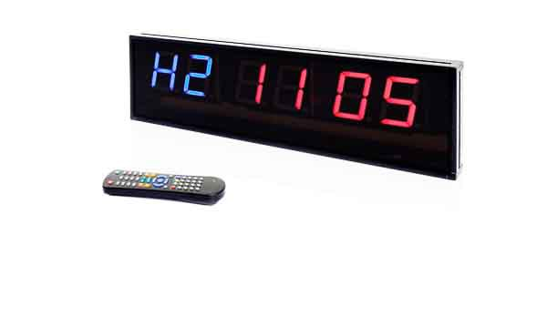 Productafbeelding voor 'Muscle Power interval timer (6-Digit)'