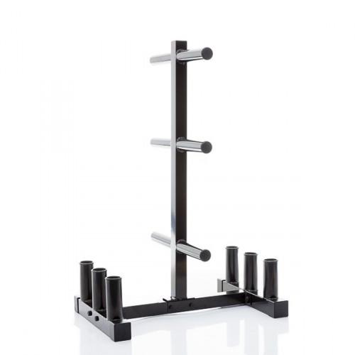Productafbeelding voor 'Muscle Power opbergrek voor 50 mm schijven en halterstangen'