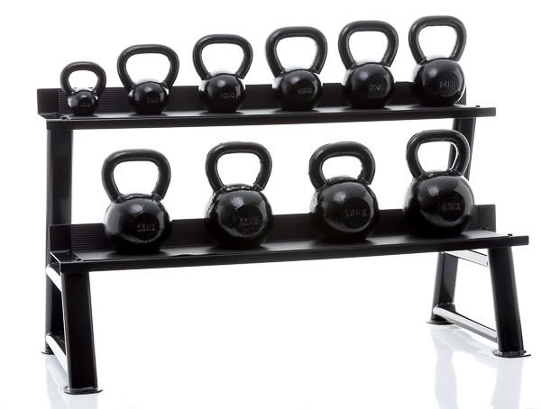 Productafbeelding voor 'Muscle Power gietijzeren kettlebells'
