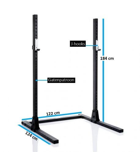 squatrekken online shoppen vergelijk, koop, bespaar!muscle power muscle power squatrek mp104 259 00 squatrekken