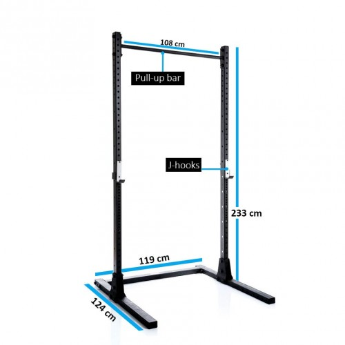 squatrekken online shoppen vergelijk, koop, bespaar!muscle power muscle power squat standaard mp106 299 00 squatrekken