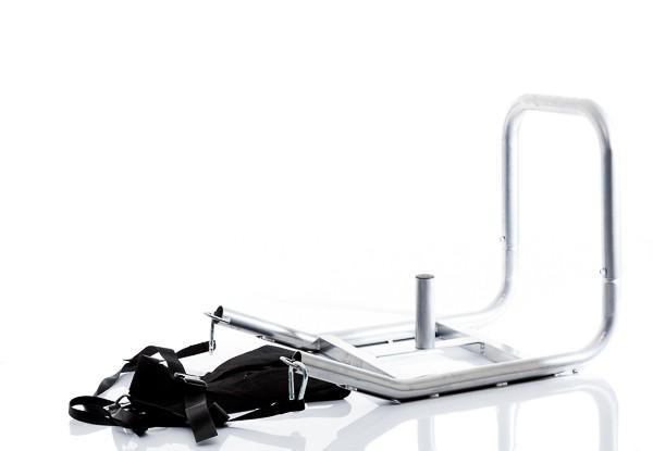 Productafbeelding voor 'Muscle Power, Power slee Grijs inclusief Harnas'