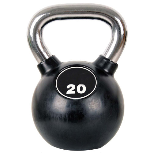 Productafbeelding voor 'Professional Chrome Kettlebell 20 kg'