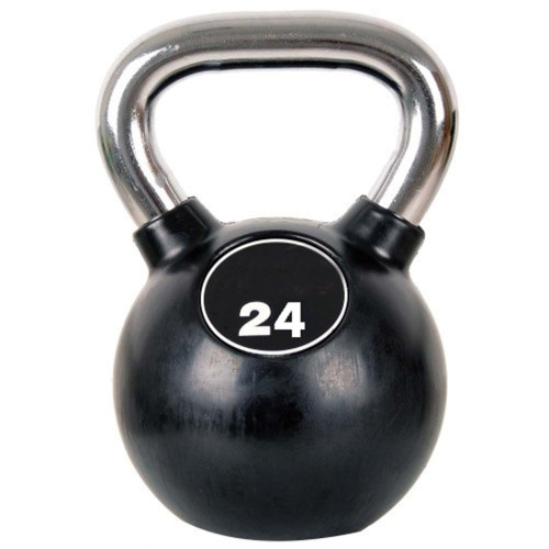 Productafbeelding voor 'Professional Chrome Kettlebell 24 kg'