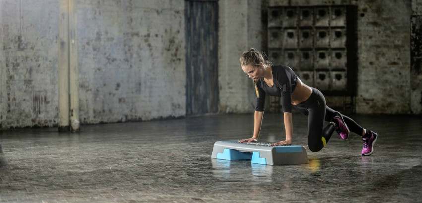 7fde8fd294a Step jezelf fit met een aerobic step - Sportbay.nl